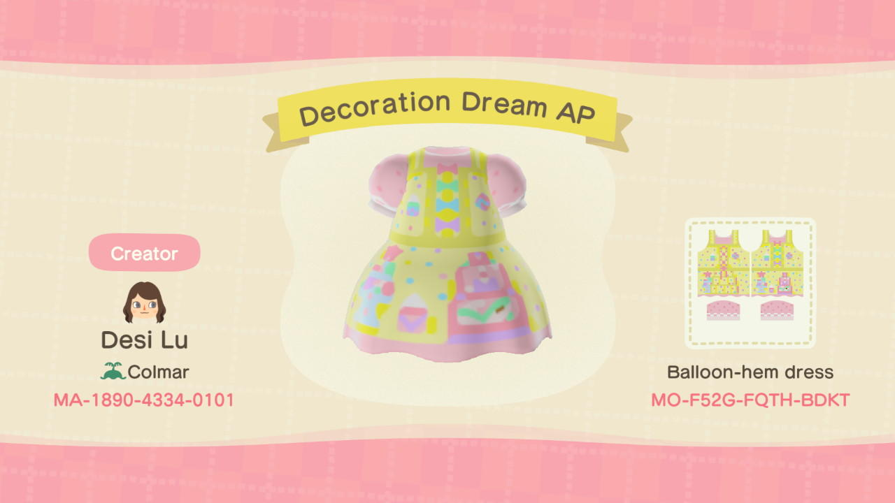 Decoration Dream AP - Animal Crossing: New Horizons Custom Design