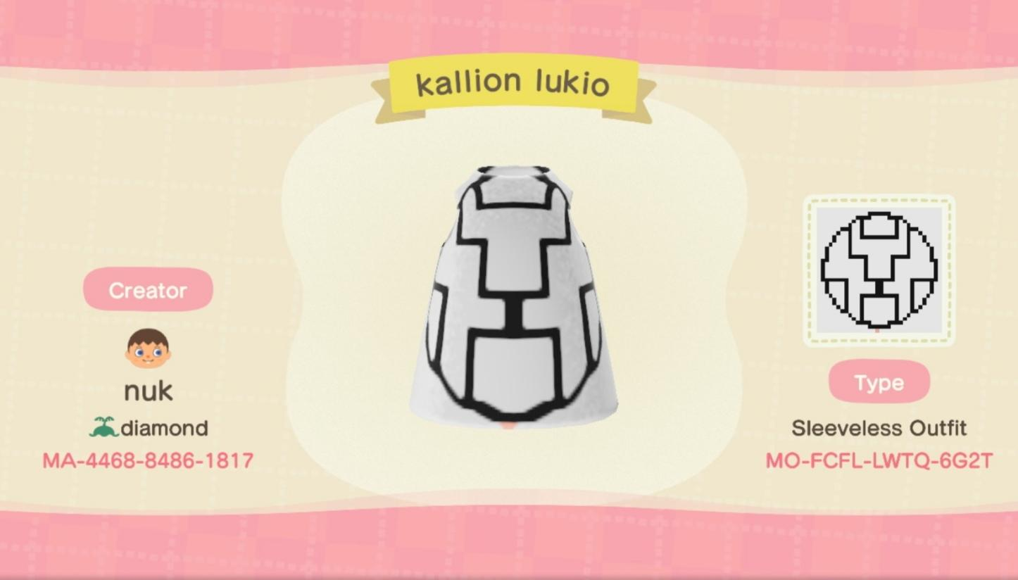 Kallion lukio  - Animal Crossing: New Horizons Custom Design