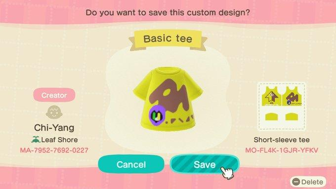 Basic Tee - Animal Crossing: New Horizons Custom Design