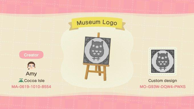 Museum Logo - Animal Crossing: New Horizons Custom Design
