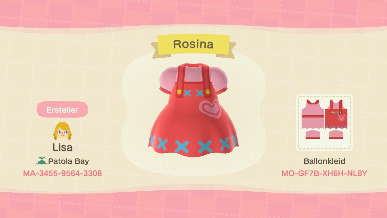 Reese's Apron - Animal Crossing: New Horizons Custom Design