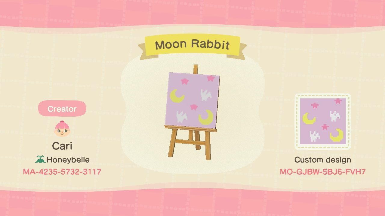 Moon Rabbit - Animal Crossing: New Horizons Custom Design
