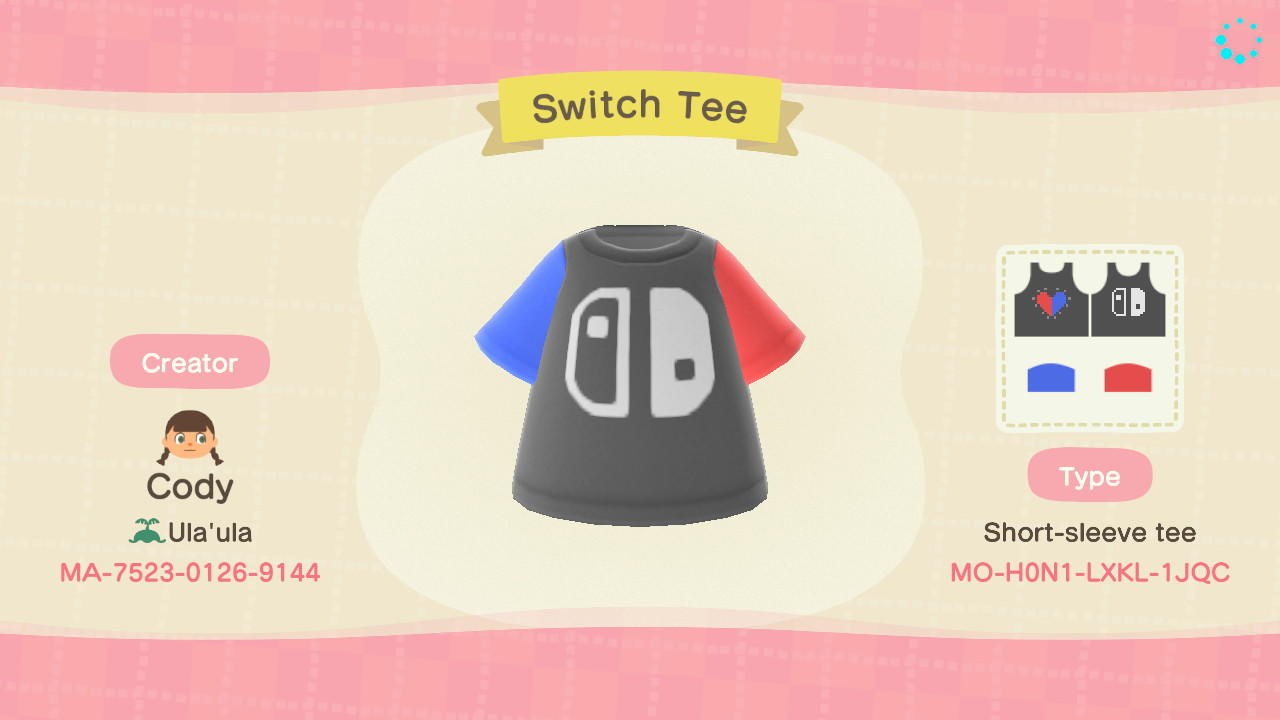 Switch Tee - Animal Crossing: New Horizons Custom Design