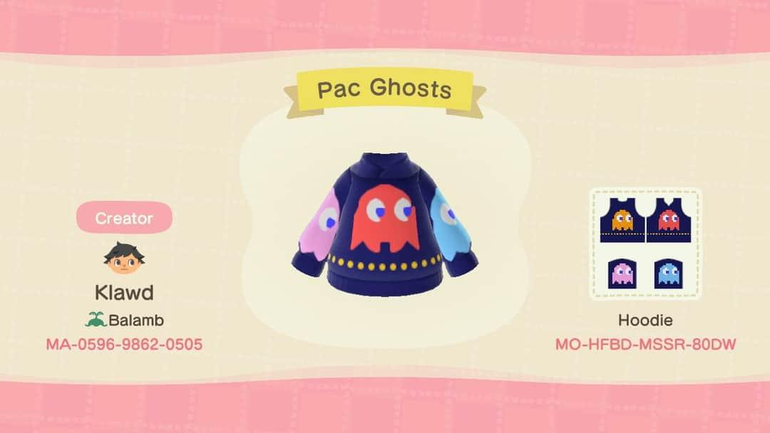 Pac man ghosts - Animal Crossing: New Horizons Custom Design