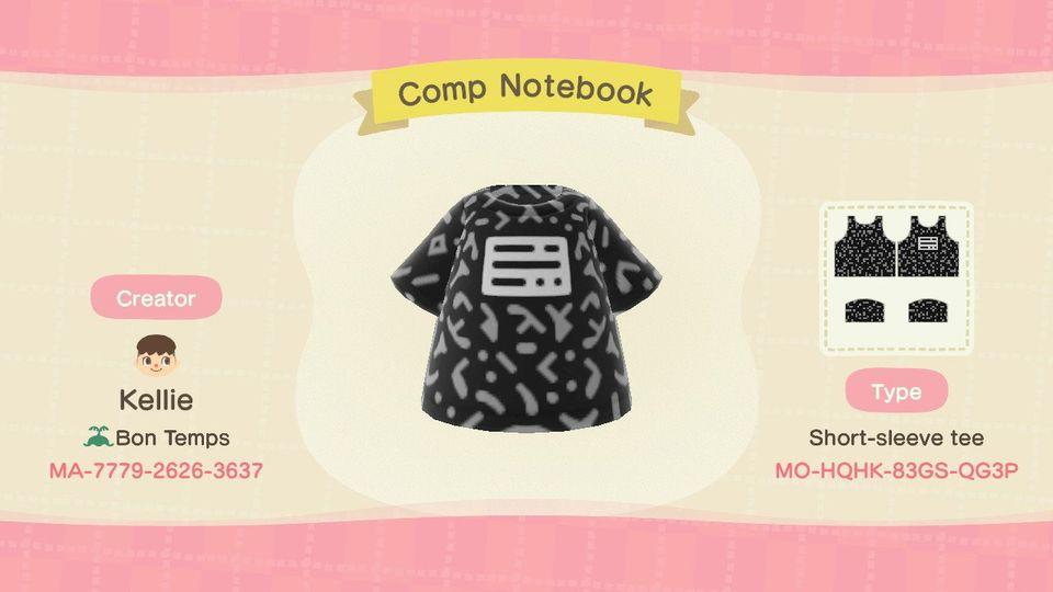 Comp Notebook - Animal Crossing: New Horizons Custom Design