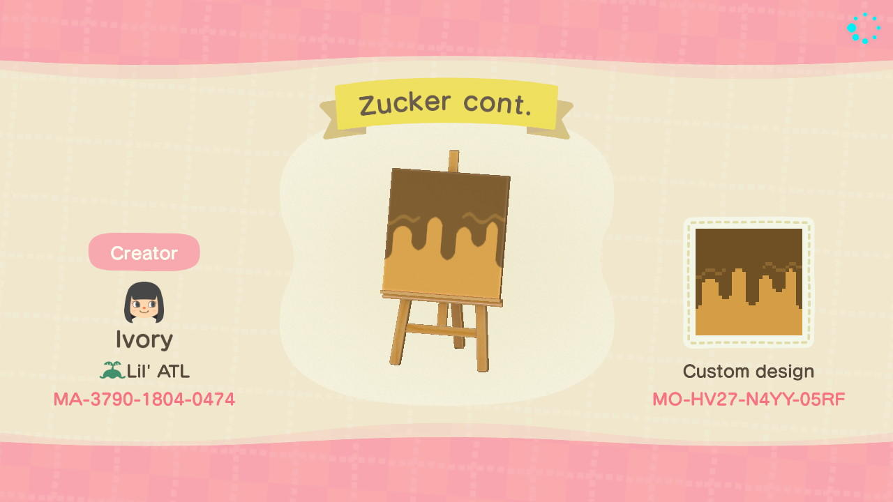 Zucker Plain - Animal Crossing: New Horizons Custom Design
