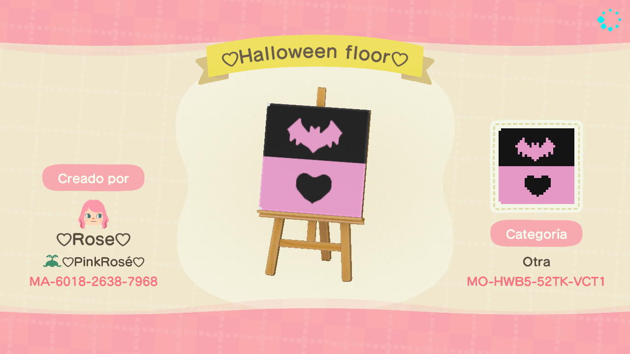 Cute Halloween Bat  - Animal Crossing: New Horizons Custom Design