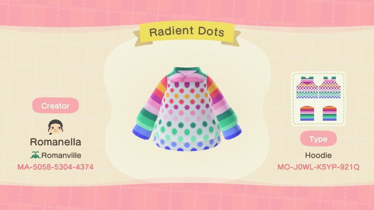 Radiant Dots - Animal Crossing: New Horizons Custom Design