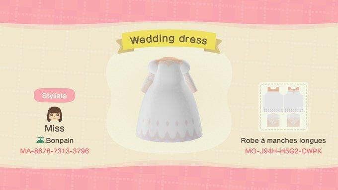 Wedding Dress - Animal Crossing: New Horizons Custom Design