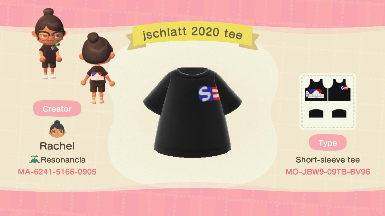 jschlatt 2020 tee - Animal Crossing: New Horizons Custom Design