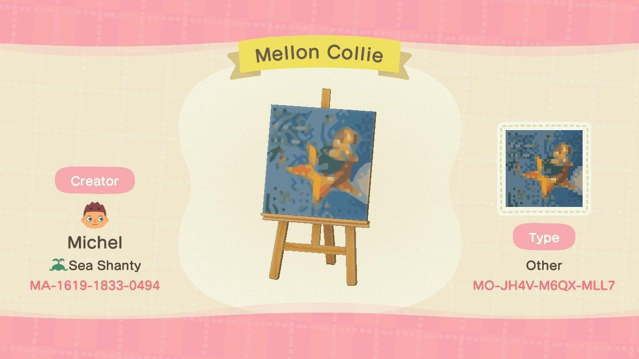 Mellon Collie - Animal Crossing: New Horizons Custom Design