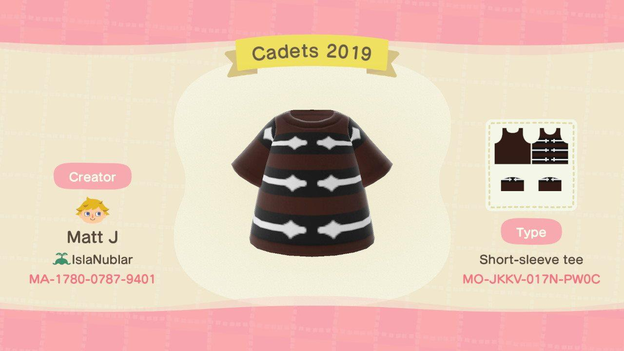 Cadets 2019 Jacket - Animal Crossing: New Horizons Custom Design