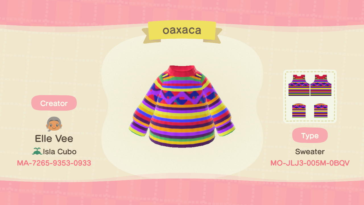 oaxaca - Animal Crossing: New Horizons Custom Design