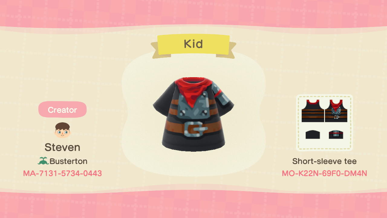 Kid - Animal Crossing: New Horizons Custom Design