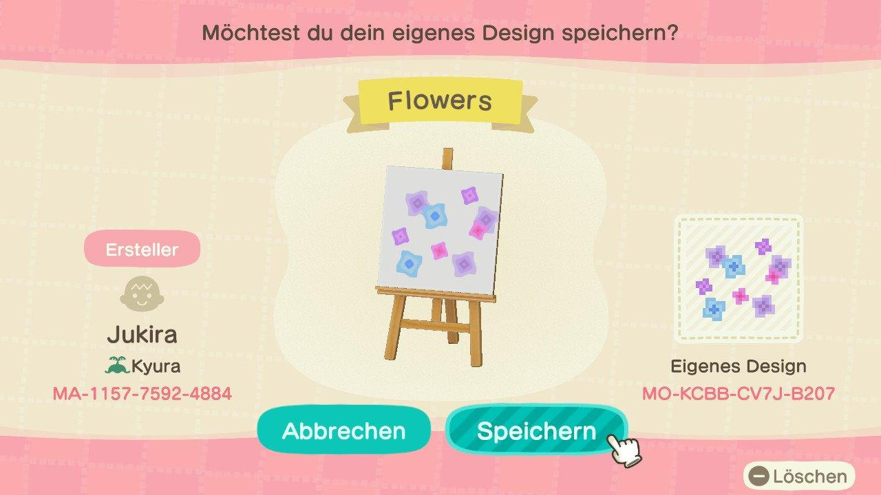 Flowers - Animal Crossing: New Horizons Custom Design