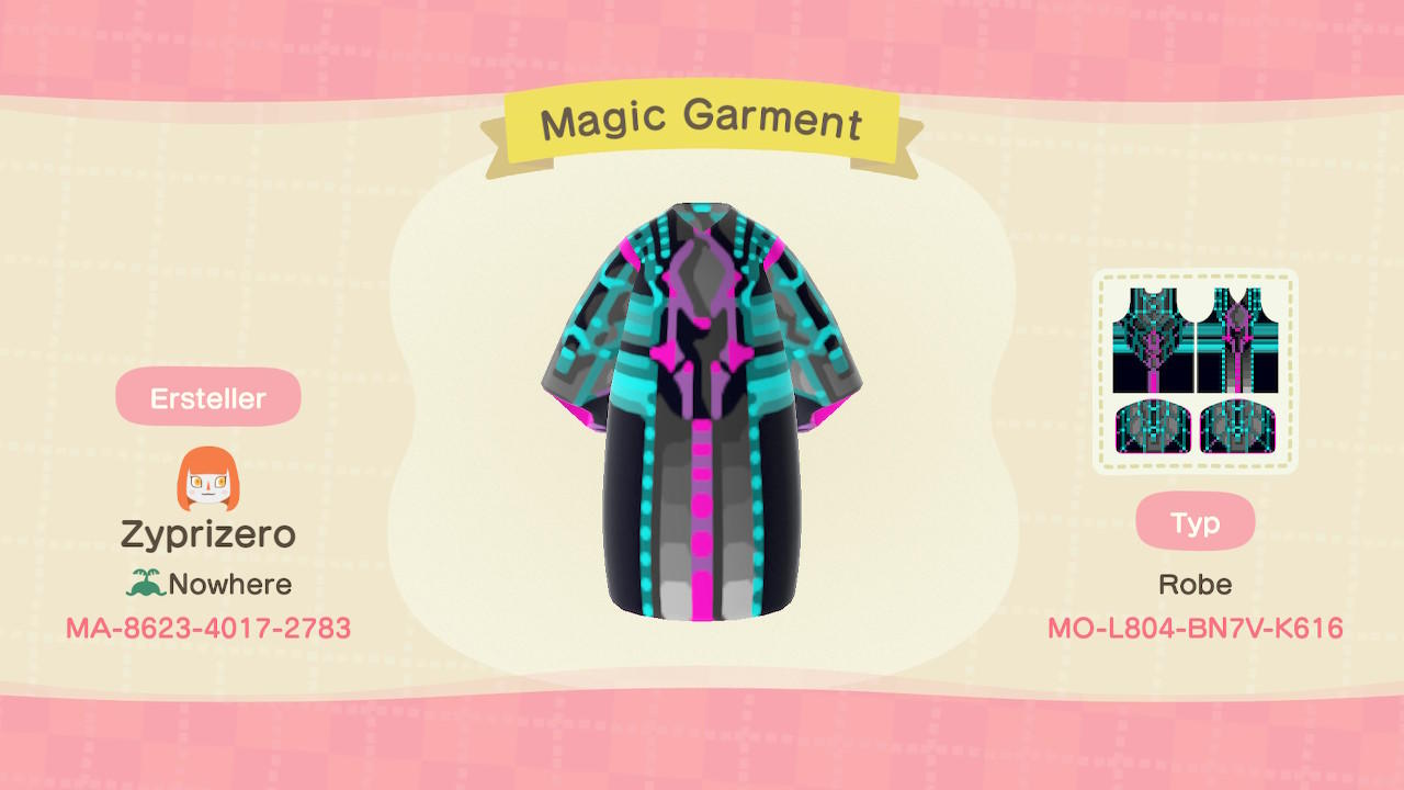 Magic Garment - Animal Crossing: New Horizons Custom Design