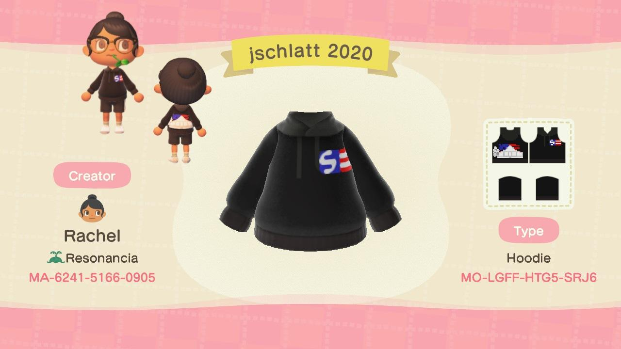 jschlatt 2020 - Animal Crossing: New Horizons Custom Design