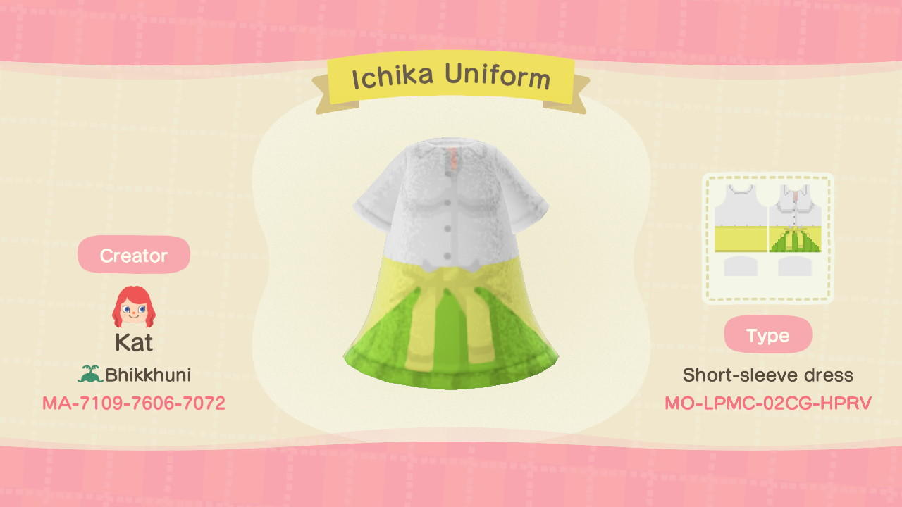 Ichika Nakano - Animal Crossing: New Horizons Custom Design