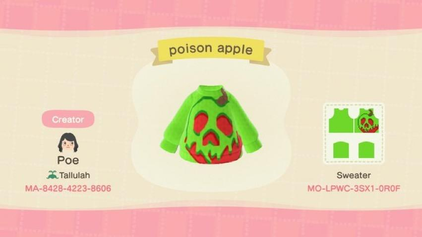 poison apple - Animal Crossing: New Horizons Custom Design