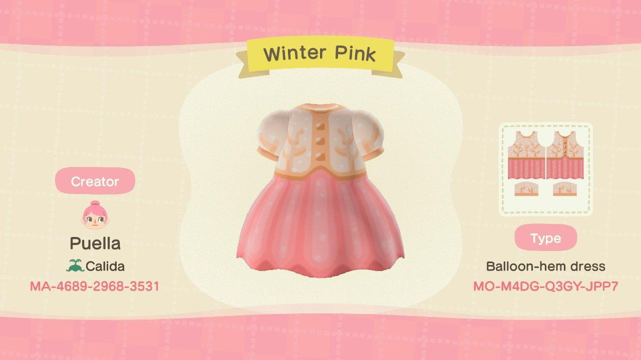Winter Pink - Animal Crossing: New Horizons Custom Design