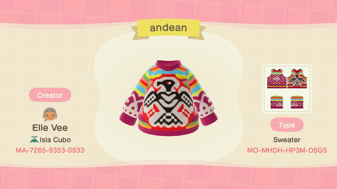 andean - Animal Crossing: New Horizons Custom Design
