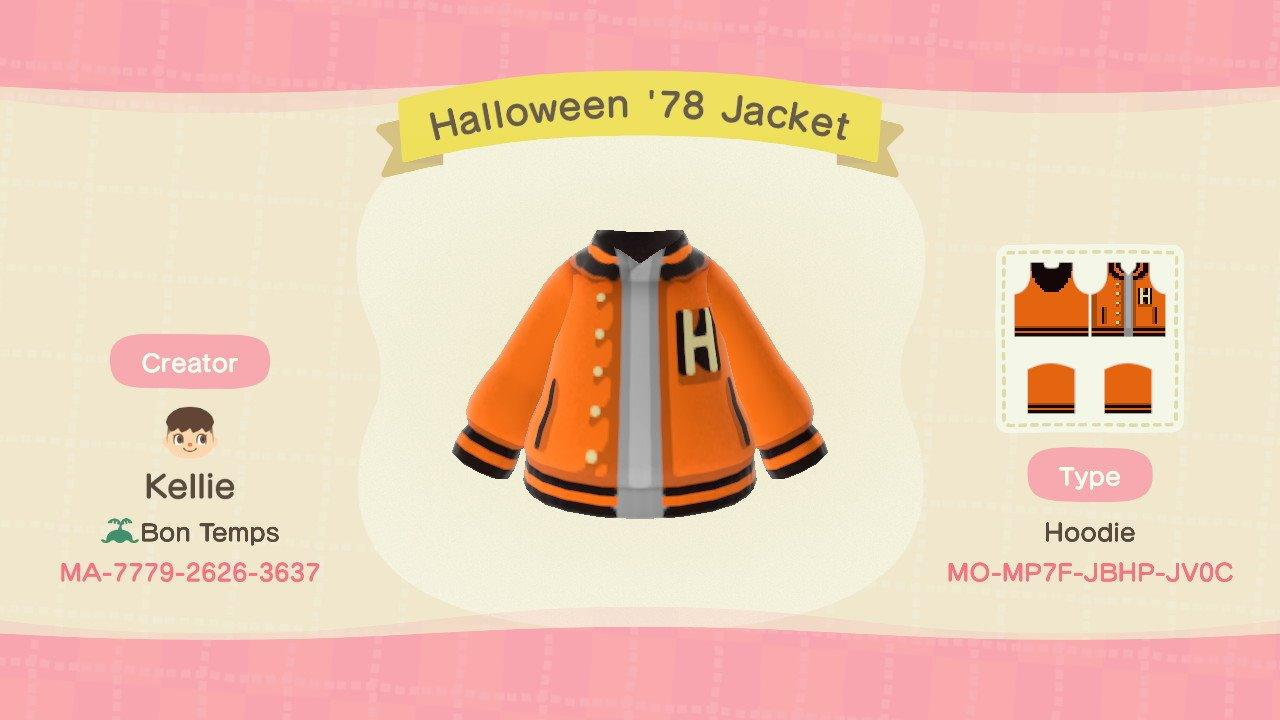 Halloween '78 Jacket - Animal Crossing: New Horizons Custom Design