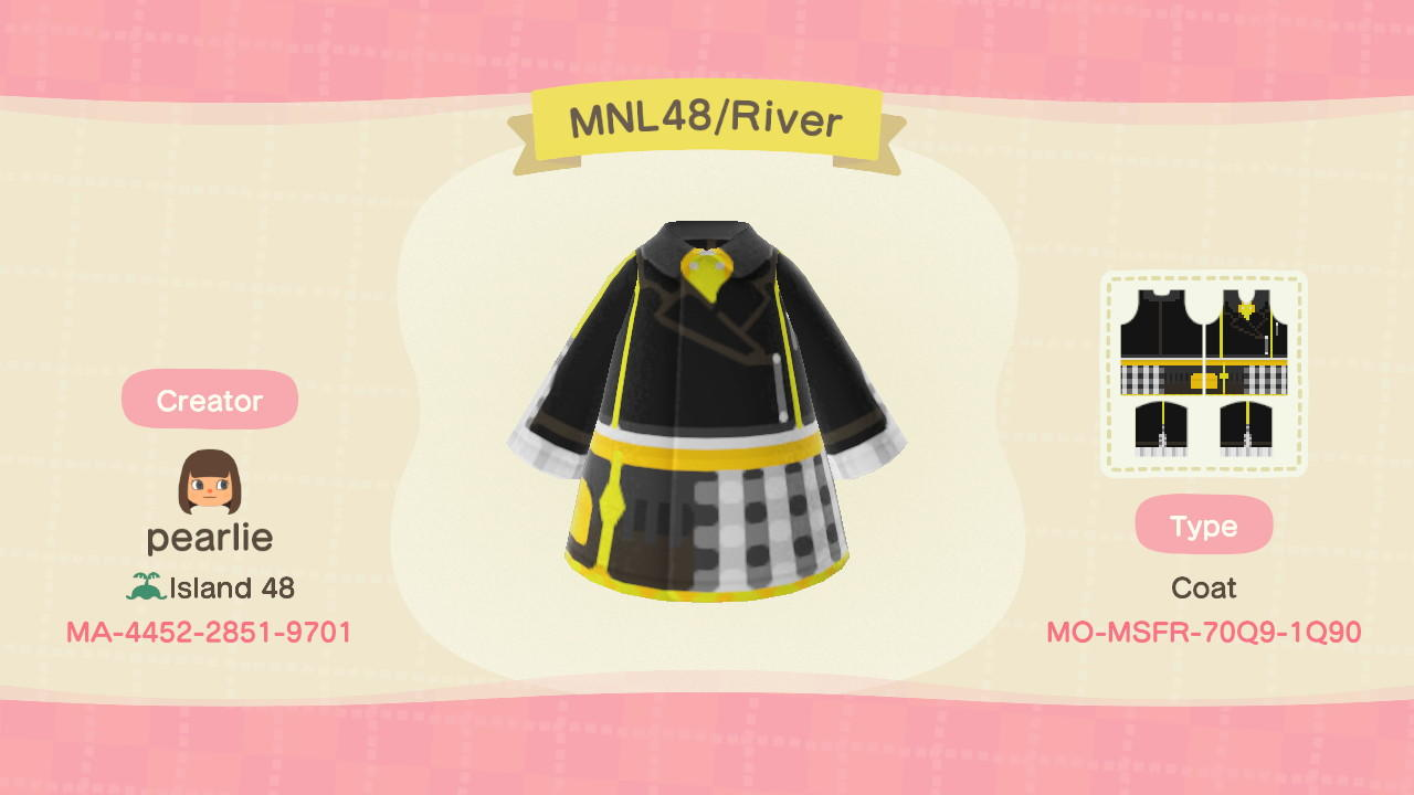 MNL48/RIVER - Animal Crossing: New Horizons Custom Design