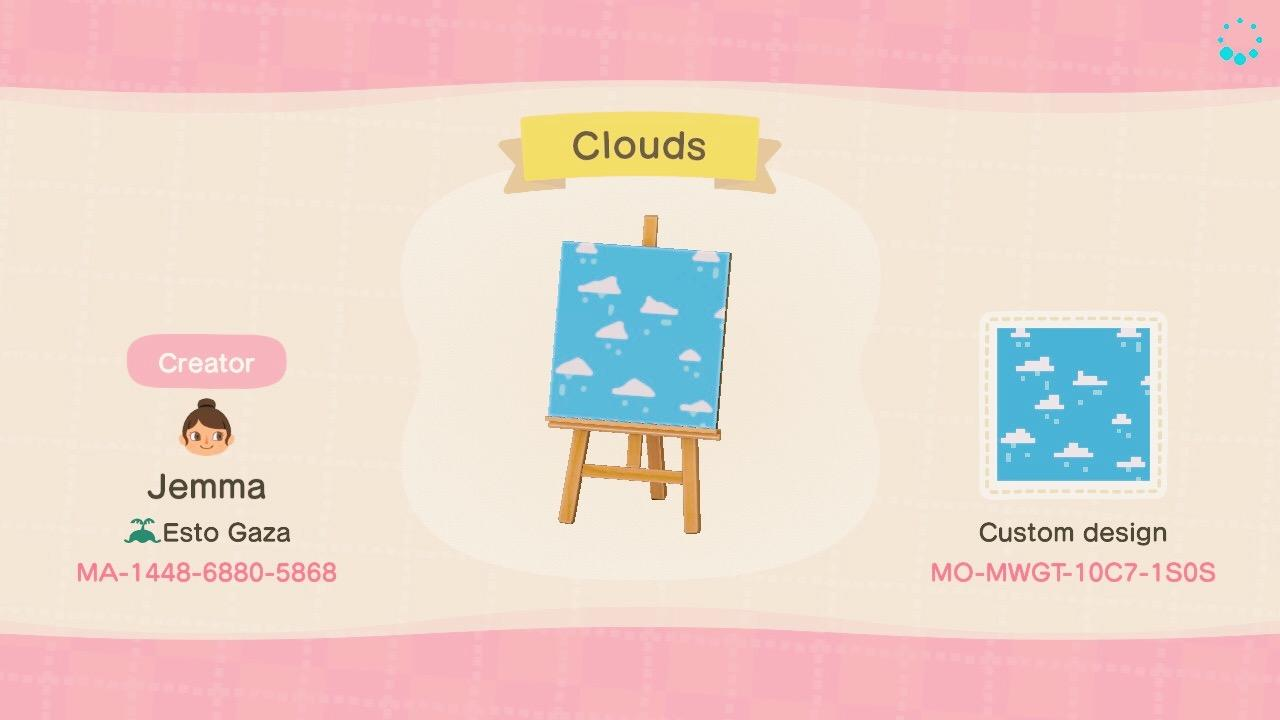 Clouds - Animal Crossing: New Horizons Custom Design