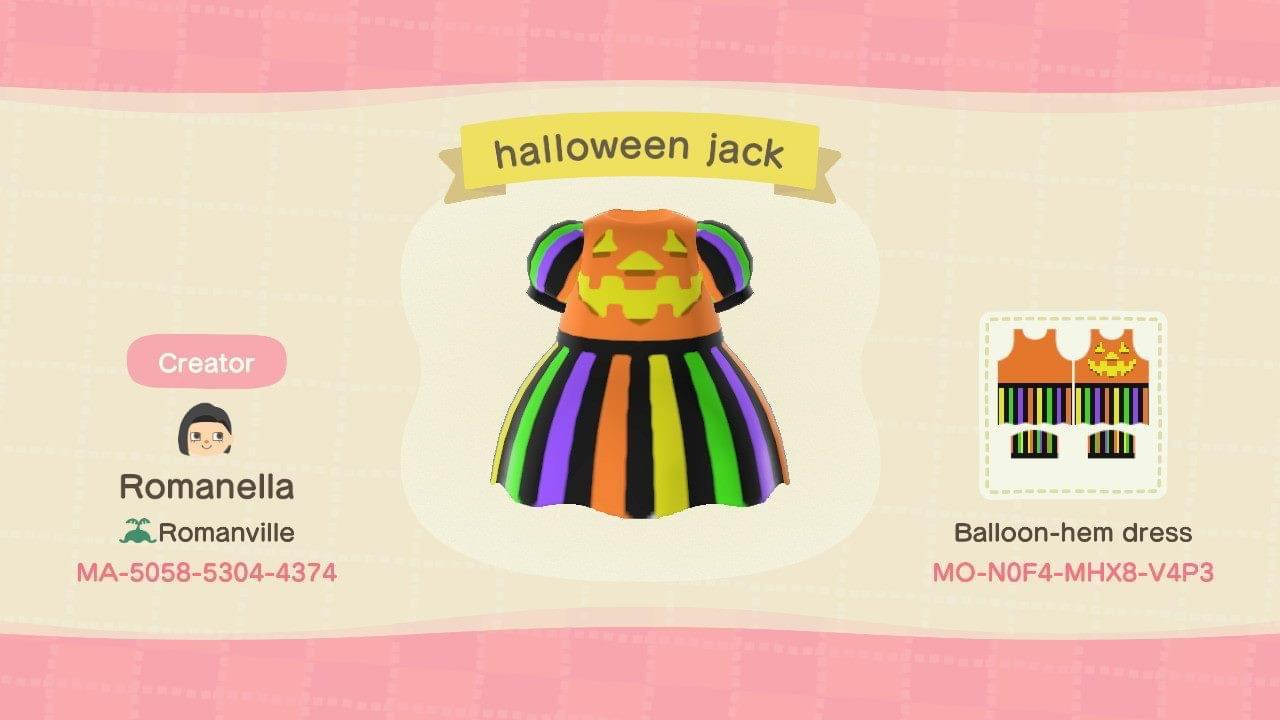 Halloween Jack - Animal Crossing: New Horizons Custom Design