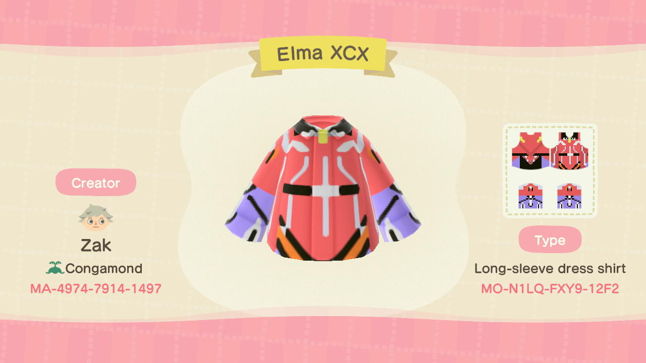 Elma's Bodywear - Animal Crossing: New Horizons Custom Design