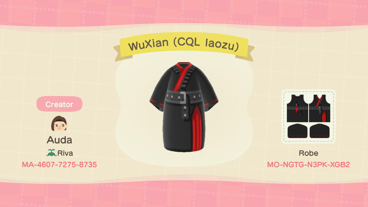 WuXian (CQL laozu) - Animal Crossing: New Horizons Custom Design