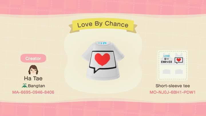 Love By Chance - Animal Crossing: New Horizons Custom Design