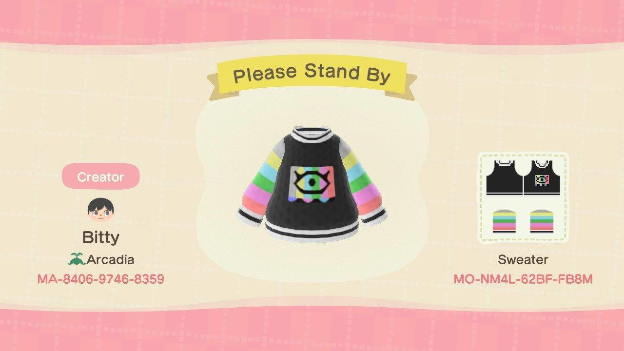 Please Stand By - Animal Crossing: New Horizons Custom Design