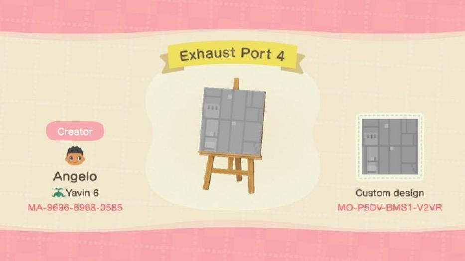 Exhaust Port 4 - Animal Crossing: New Horizons Custom Design