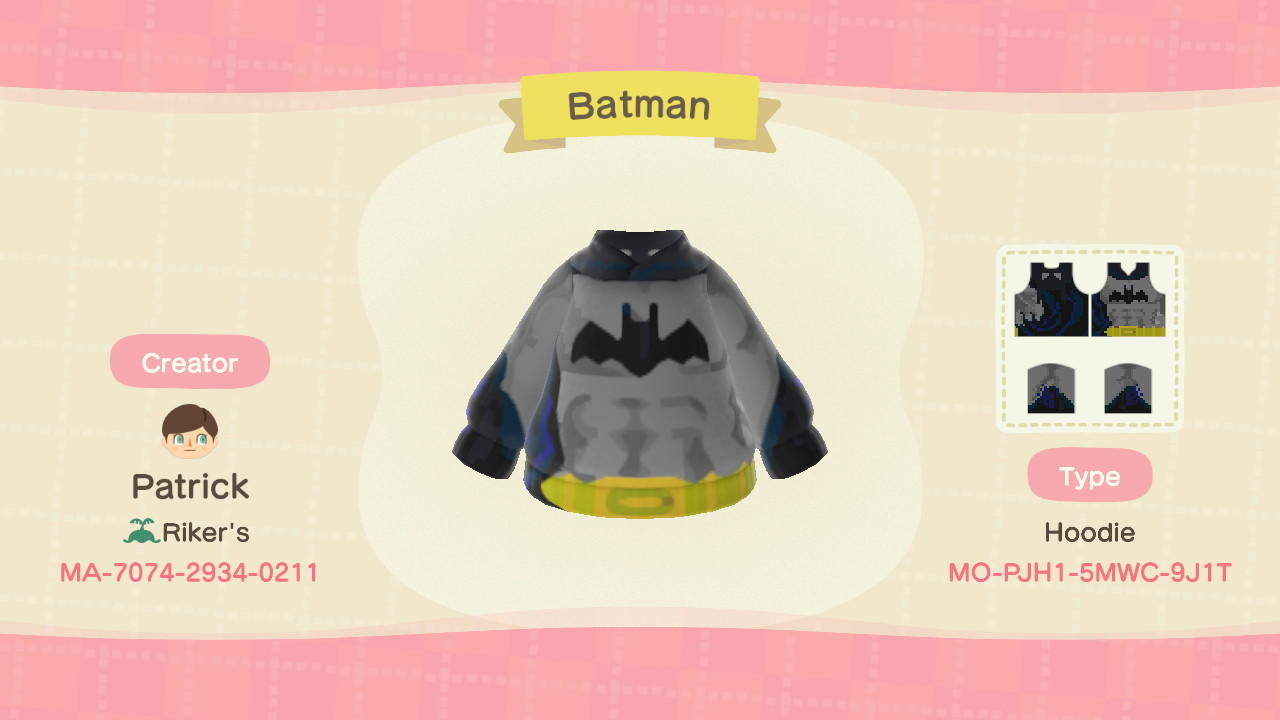 Batman - Animal Crossing: New Horizons Custom Design