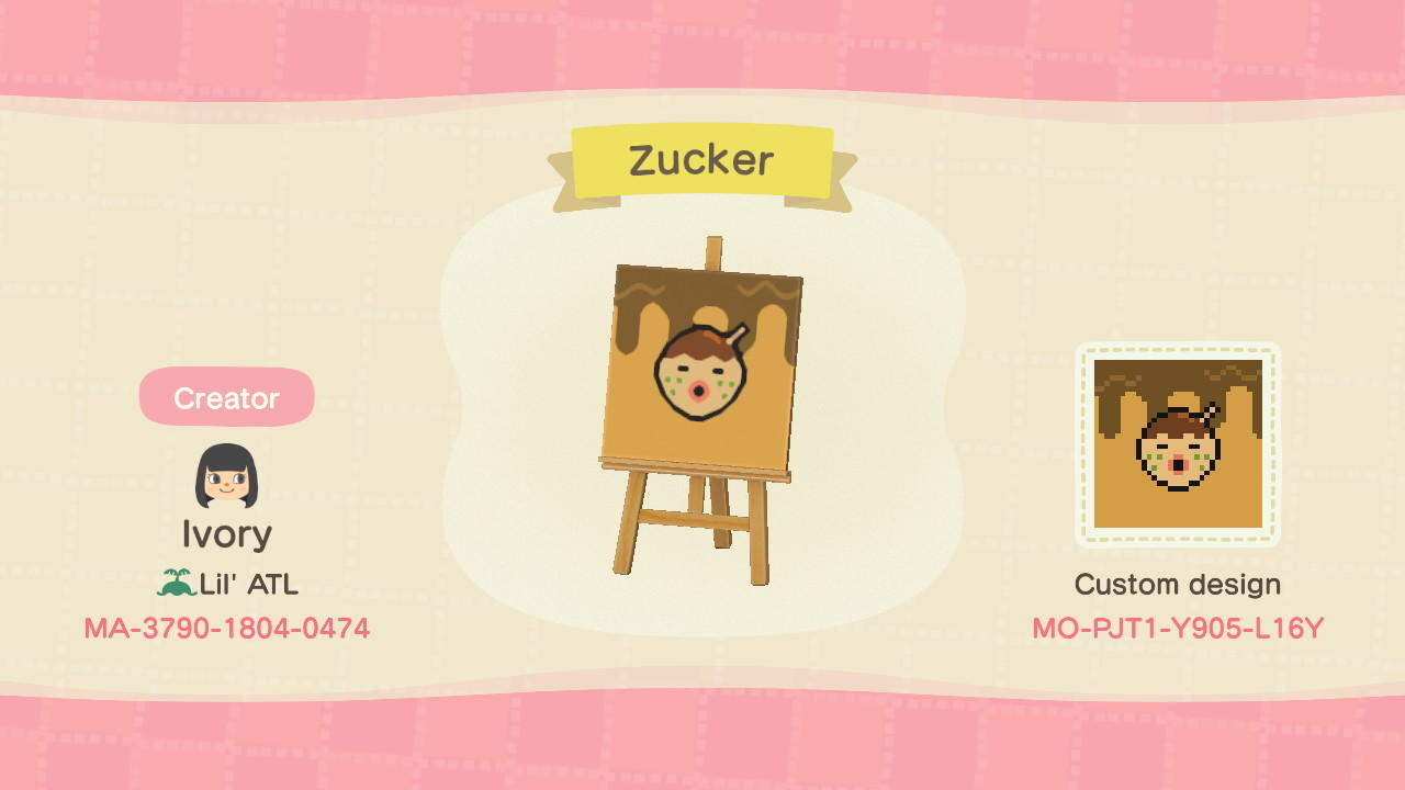 Zucker - Animal Crossing: New Horizons Custom Design