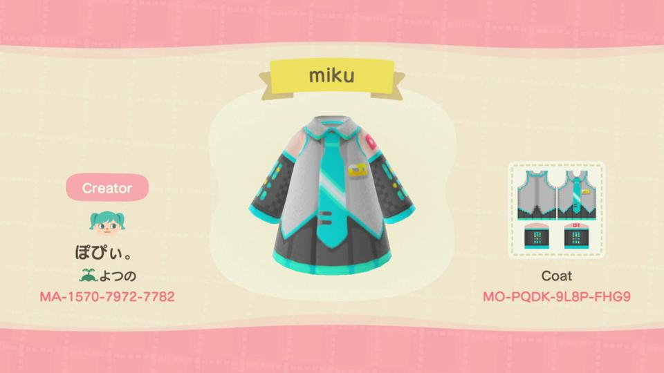 miku - Animal Crossing: New Horizons Custom Design