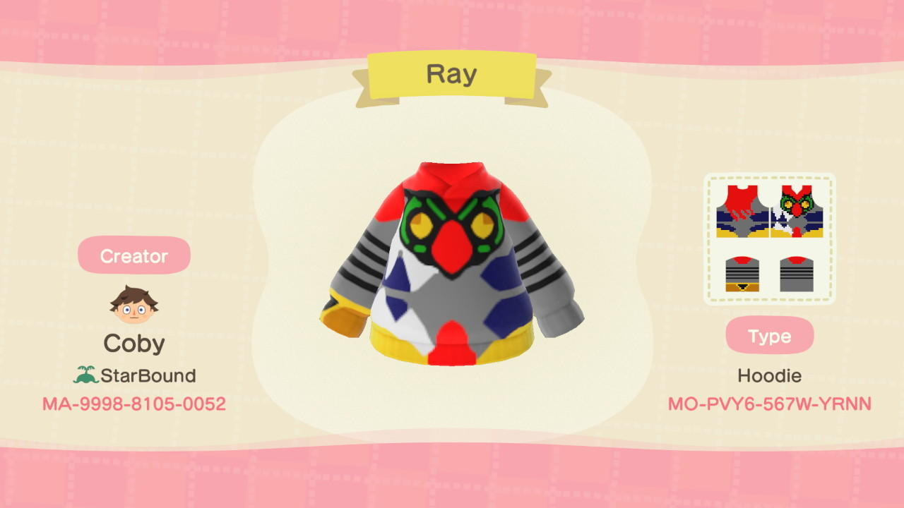 Ray - Animal Crossing: New Horizons Custom Design