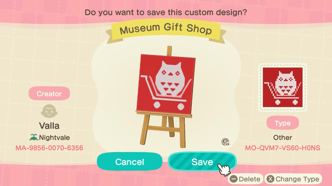 Museum Gift Shop - Animal Crossing: New Horizons Custom Design