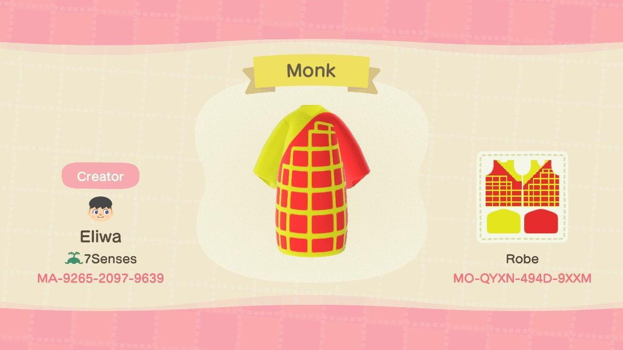 Monk - Animal Crossing: New Horizons Custom Design