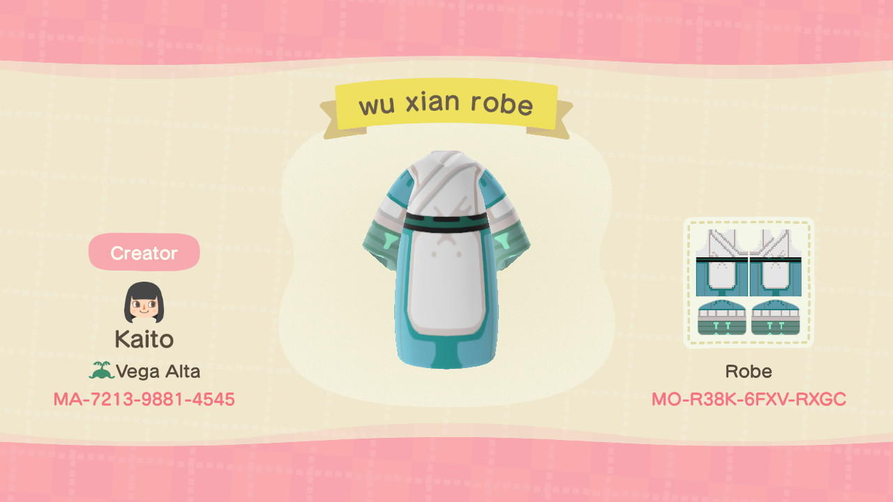 WuXian LegendOfHei 2 - Animal Crossing: New Horizons Custom Design