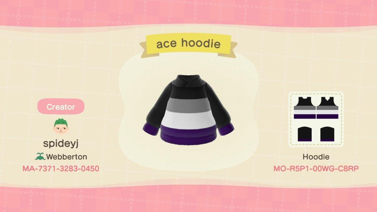 Ace hoodie - Animal Crossing: New Horizons Custom Design