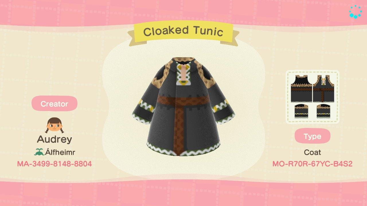 Cloaked Tunic - Animal Crossing: New Horizons Custom Design