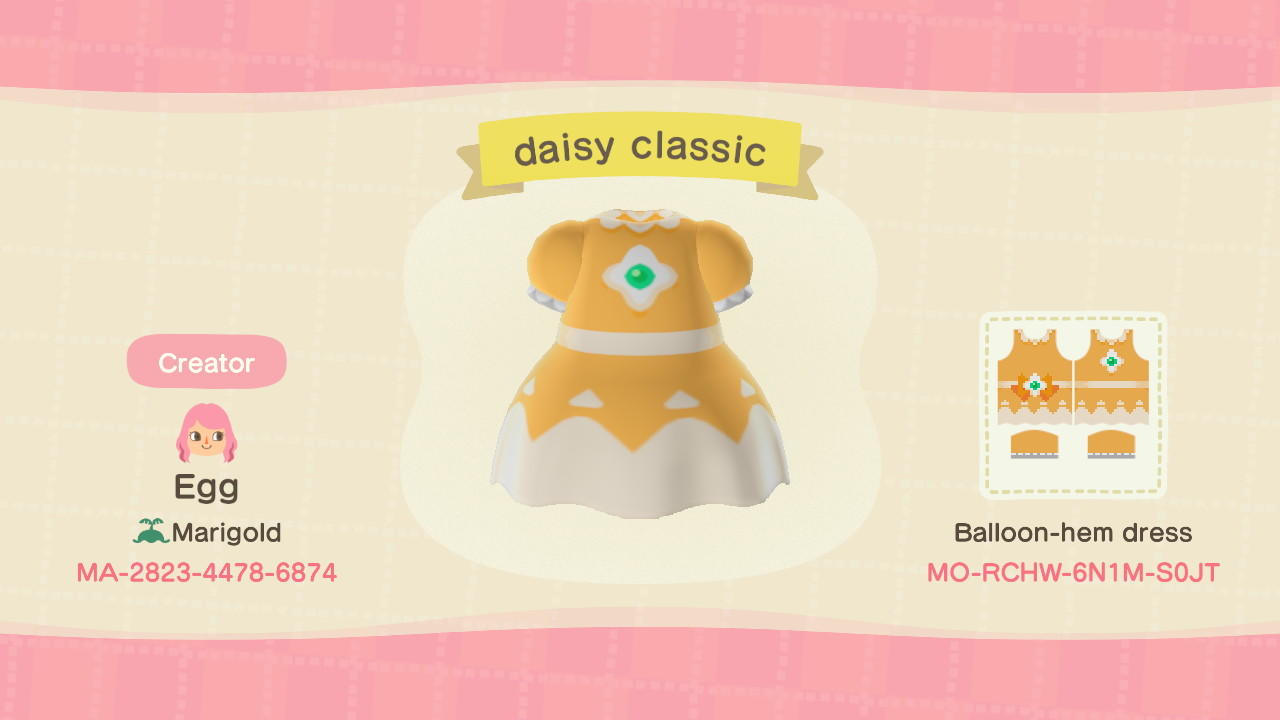 daisy classic - Animal Crossing: New Horizons Custom Design