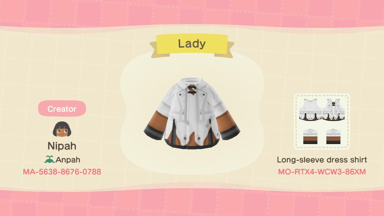 Devil May Cry Lady - Animal Crossing: New Horizons Custom Design