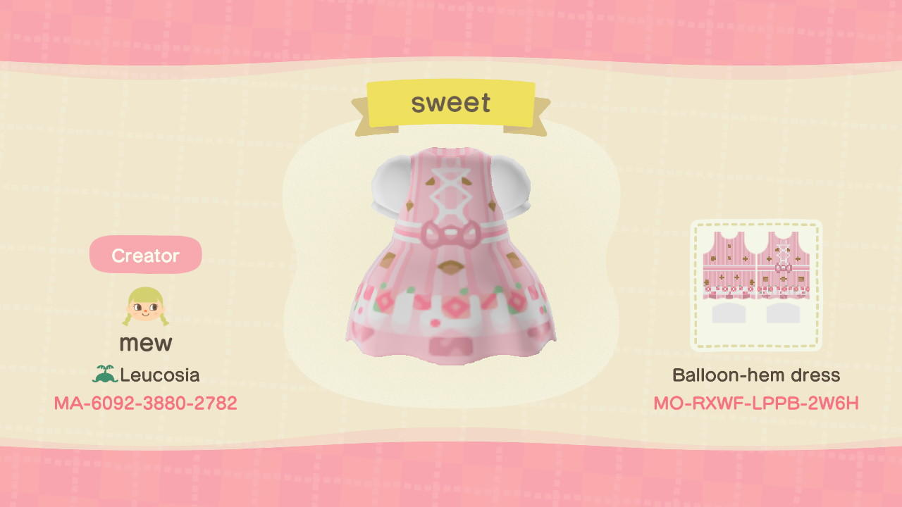 sweet - Animal Crossing: New Horizons Custom Design