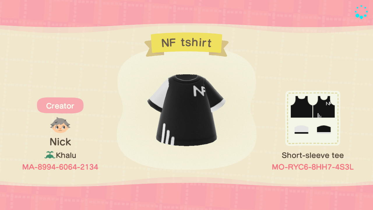 NF Tee - Animal Crossing: New Horizons Custom Design