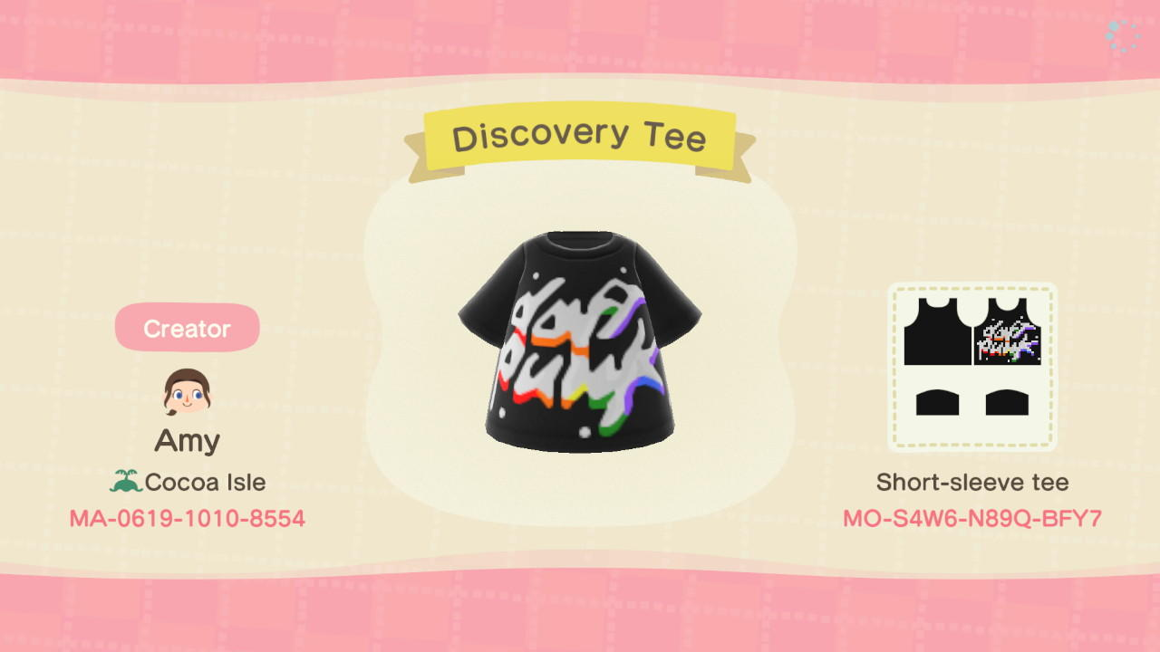 Discovery Tee - Animal Crossing: New Horizons Custom Design