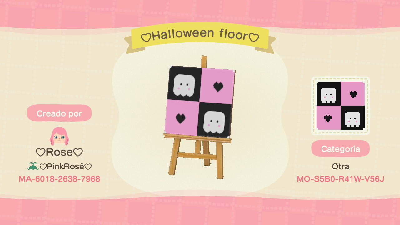 Cute Halloween Ghost - Animal Crossing: New Horizons Custom Design