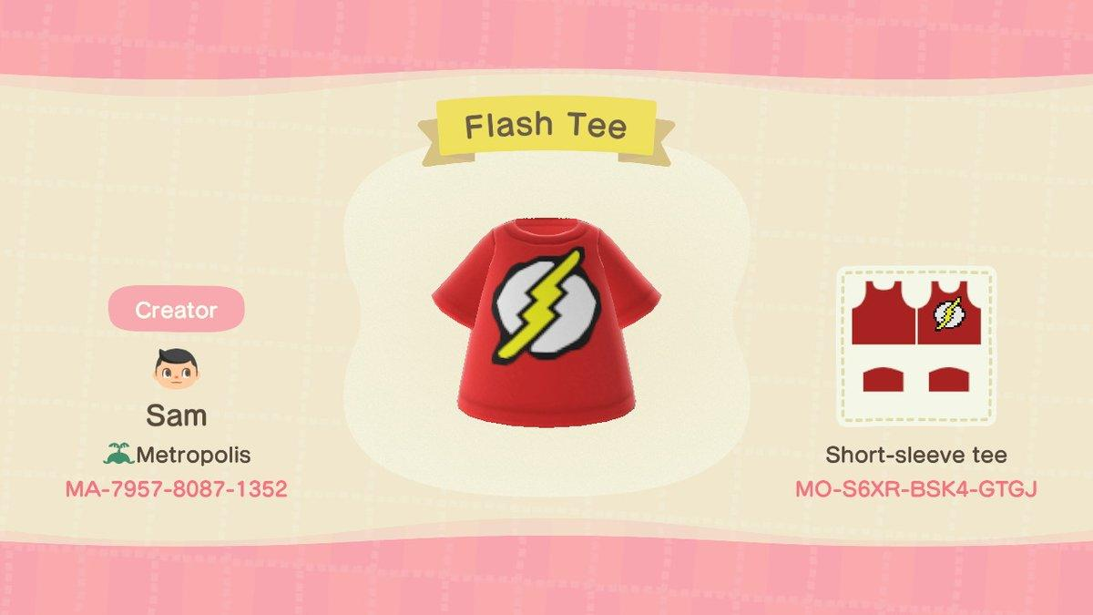 Flash Tee - Animal Crossing: New Horizons Custom Design